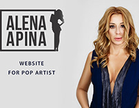 Alena Apina website