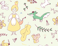 Country girl | Illustrations & patterns