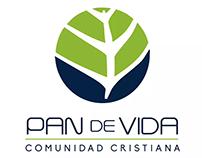 Pan de Vida Comunidad Cristiana Logo Animation
