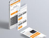 RoadRunner Progressive Web Application UX/UI Design