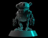 Primer Ciclo de Modelado 3D en proceso de eddie