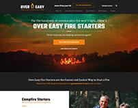 Campfire Starter Website