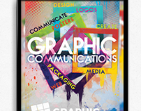 Graphic Communications Poster + Sticker