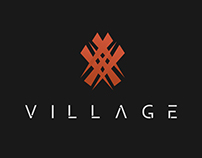 VILLAGE - EXTERIOR SIGN, MENU, CARD & LOGO DESIGN
