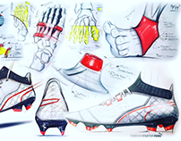 PUMA ONE development sketches