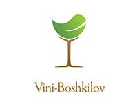 Vini-Boshkilov winery bio-line label