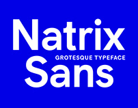 Natrix Sans Typeface