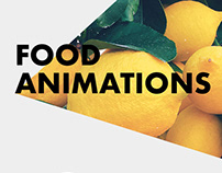 Food Animations