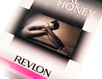 Revlon - Natural Honey Products - Stand & Booklet