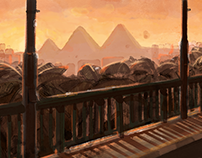 Cairo Illustrated Backgrounds