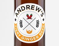 Andrew's Fiery Ginger Beer
