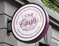 Cafe Cassis branding