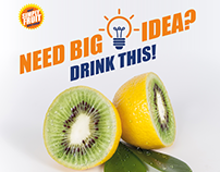 Kiwi Lemon Juice Ad