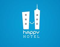 Happy Hotel Logo and App part 1