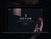 Novum Website Design