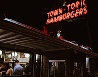 Neon Nighttime Diners