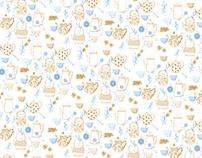 pattern para libro de té