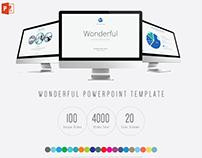 Wonderful PowerPoint / Keynote Presentation Template