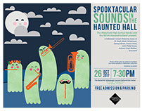 SPOOKTACULAR SOUNDS IN THE HAUNTED HALL CONCERT