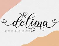 Delima // Modern Calligraphy