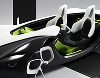 Handcrafted Renault Spyder Concept