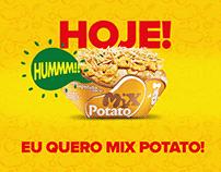 Mix Potato. A maior franquia de batatas do mundo!