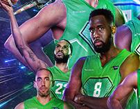 Tofas Bursa Basketball Club Print Concept
