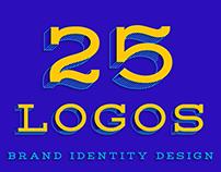 25 Logos & Brands
