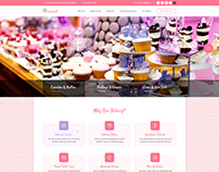 Croissant - Bakery Business OnePage PSD Template