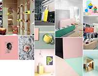 Moodboards for Retail Design