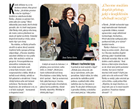 Salon č.4 - fashion designers / Interview