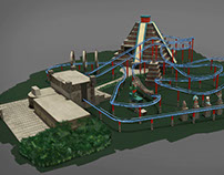 The Flying Serpent - Ride concept