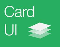 Card UI Animation