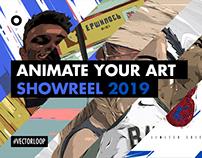 Animate your art : Showreel 2018/19