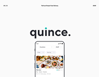 Quince Food Delivery