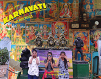 Greetings from Karnavati   Postcards from 2025.