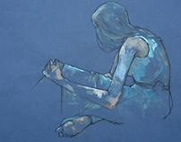 Blue soul searching