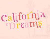 FONT - California Dreams
