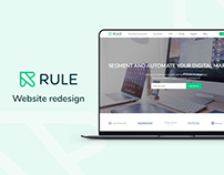 Rule Website Redesign