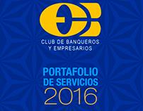 Portafolio Servicios Club de Banqueros Bogotá 2016