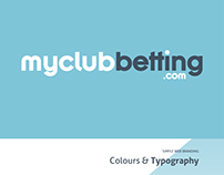My Club Betting | Branding & Website