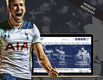 Tottenham Hotspur Website Redesign