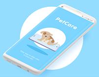 PetCare - mobile app concept