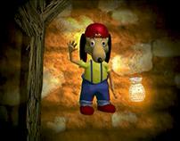 Wimpys Spell Battle - Animation (Mine Shaft Scene)
