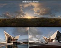 Sunset HDR SKY ARCHVIZ
