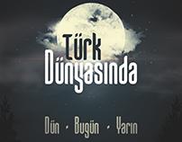 Türk Dünyasında Dün Bugün Yarın Book Cover