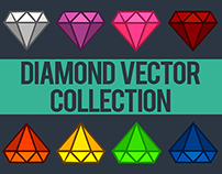Diamond Vector Colorful Collection