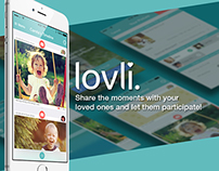 Lovli Family App redesign