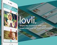 Lovli Family App redesign