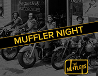 Series of IG event graphics for The Mufflers MC.